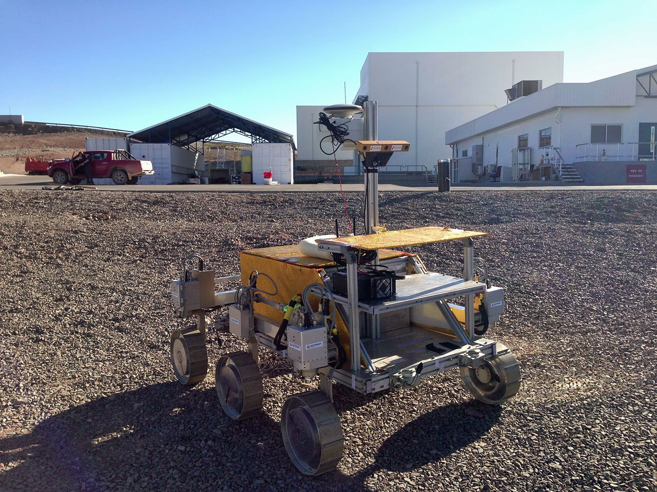 ESA's Rover Tested