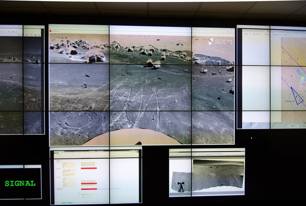 Video Wall in Remote Control Center