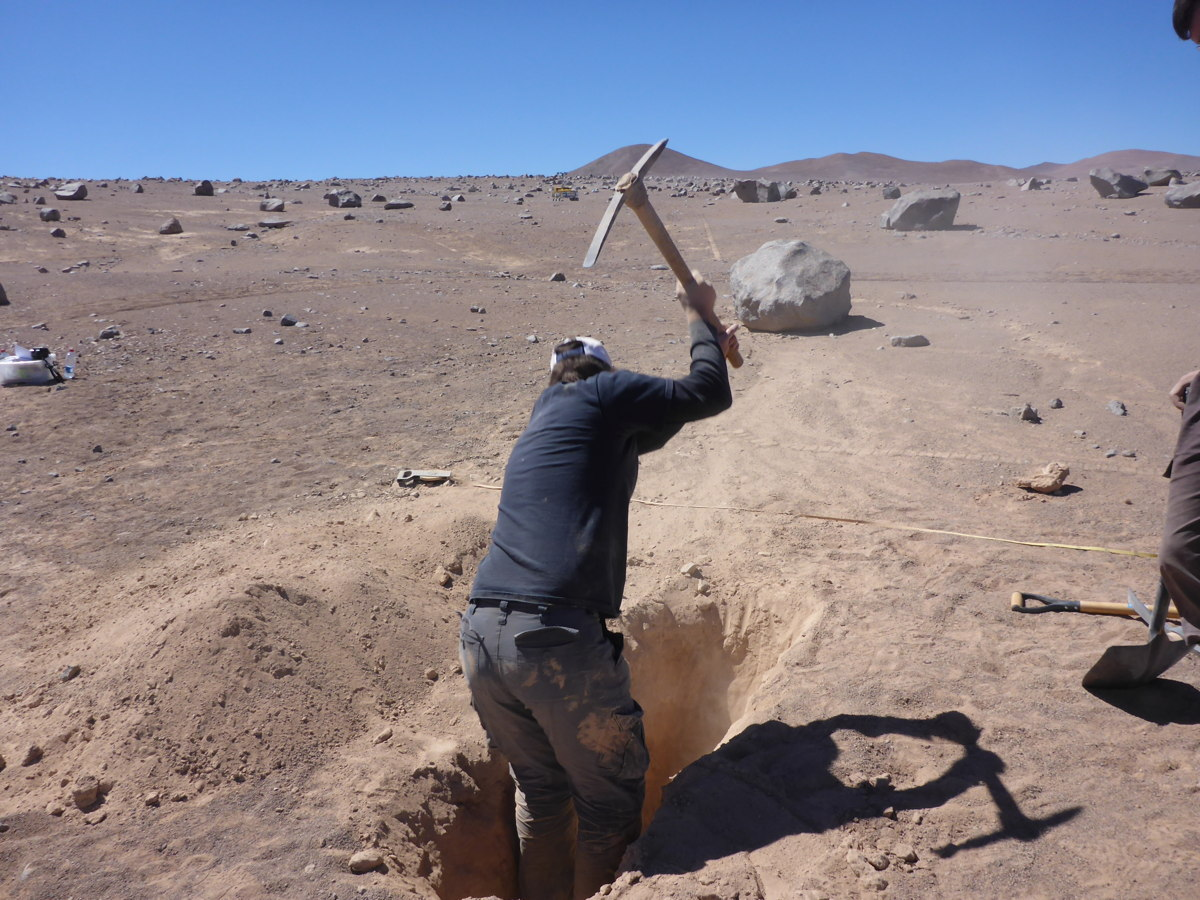 Digging for Bedrock in the Atacama Desert