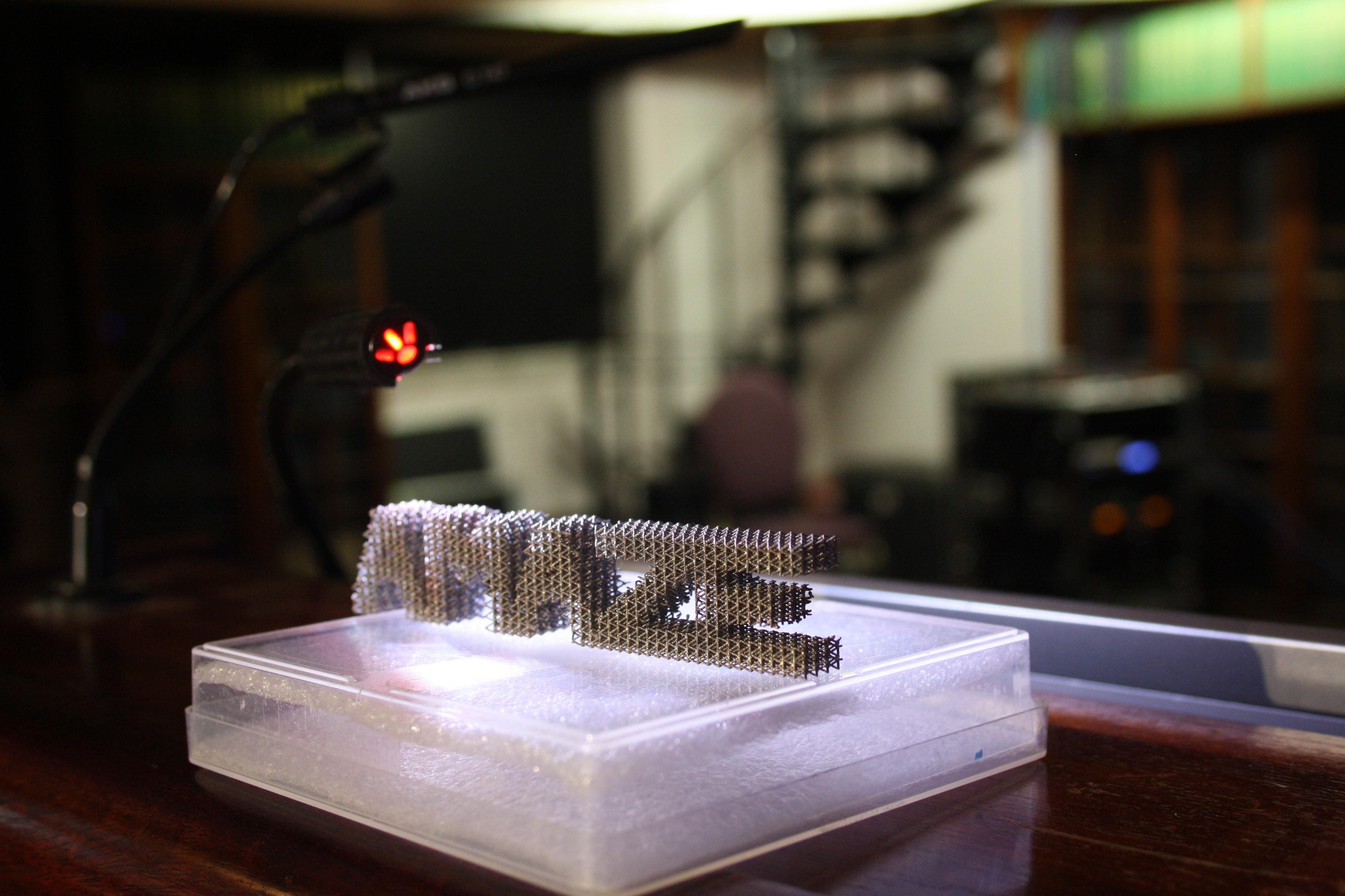 3D Printed AMAZE Logo