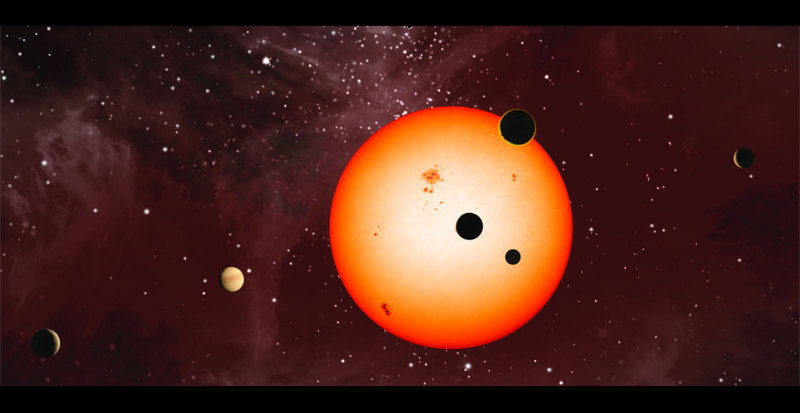 Weird Out of Whack Exoplanetary System Discovered