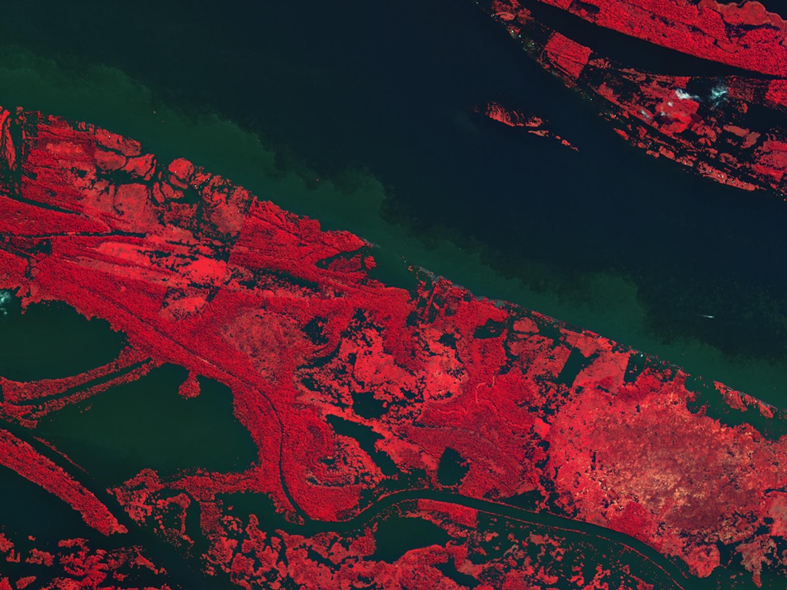 Kompsat-2 View of Amazon River