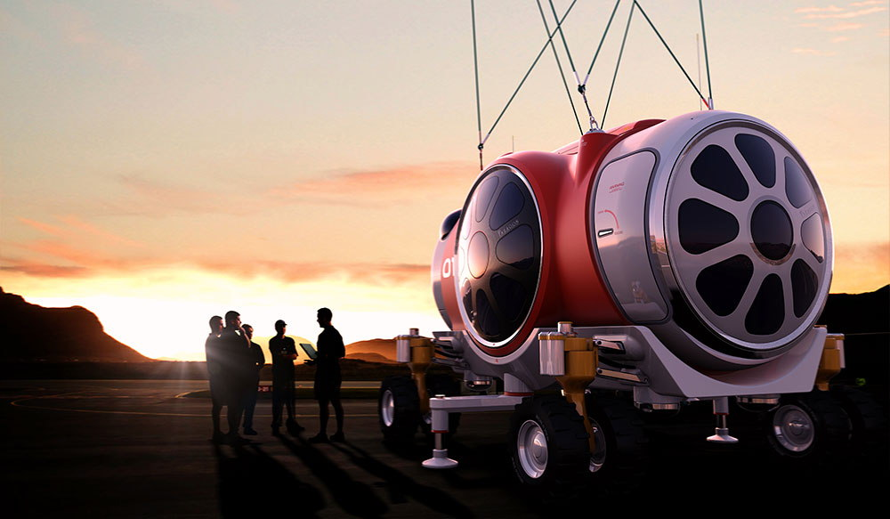 World View Passenger Capsule Pre-Launch