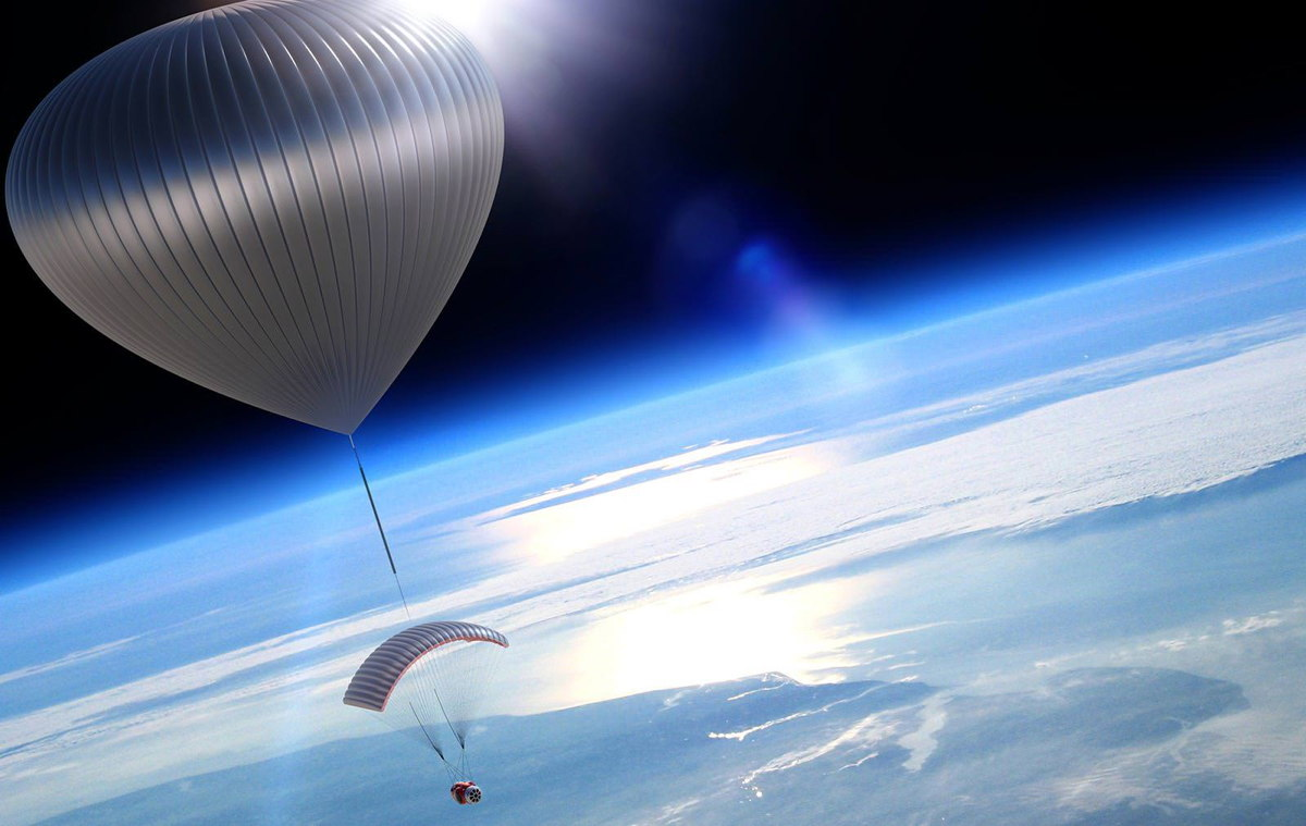 For Sale: Balloon Rides to Near-Space for $75,000 a Seat