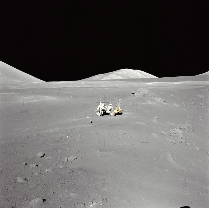 Space History Photo: Lunarama