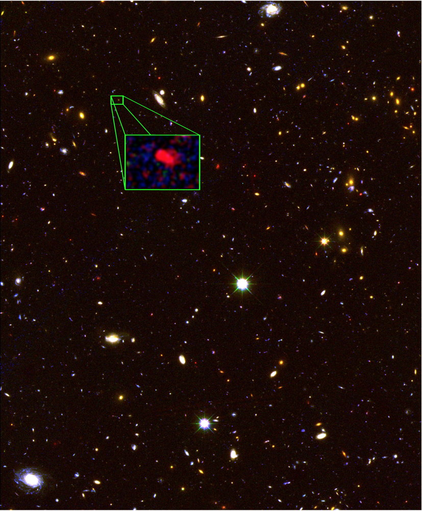 Ancient Galaxy Is Farthest Ever Seen