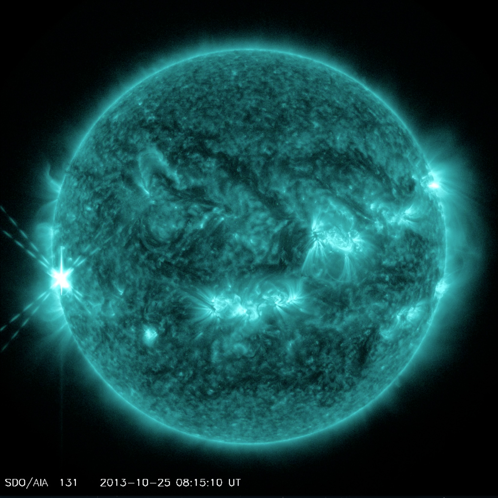 Sun Erupts With Two Major Solar Flares (Video)