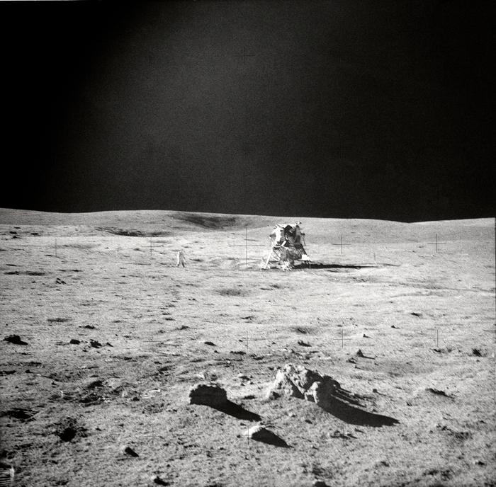 Space History Photo: Apollo 14 EVA View