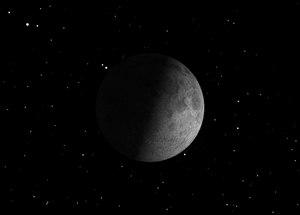 Sunday, Nov. 10, 12:57 a.m. EST. The First Quarter Moon rises around 2:00 p.m. and sets around 12:40 a.m. It dominates the evening sky.
