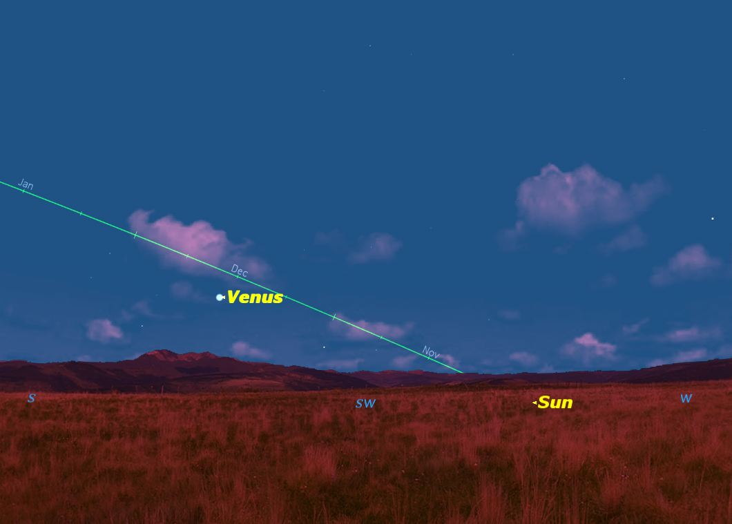 Venus at Greatest Elongation East, November 2013