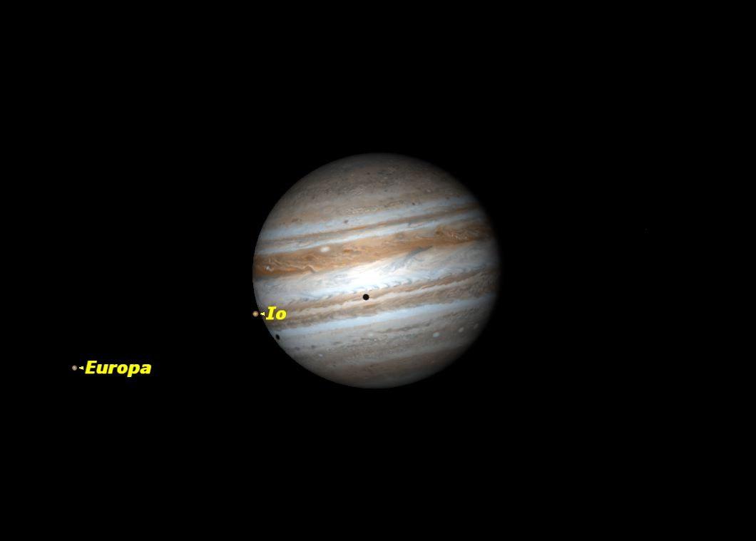 Double Shadow Transit on Jupiter, November 2013