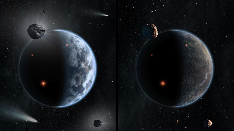 Diamond Planets Likely Dry and Inhospitable for Alien Life