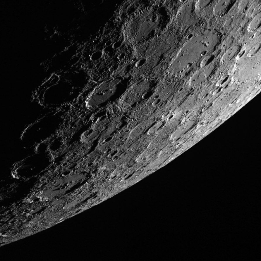 Photos of Mercury from NASA's Messenger Spacecraft