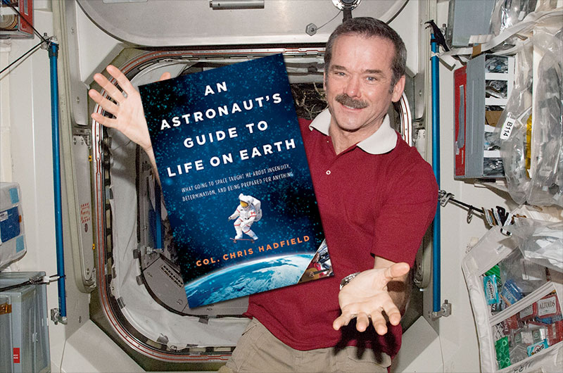 Canada's Star Astronaut Chris Hadfield Visits SPACE.com Today: Watch Live at 4:30 pm ET