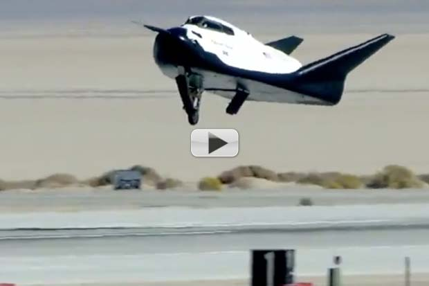 'Dream Chaser' Landing Gear Fails To Deploy On Test | Video