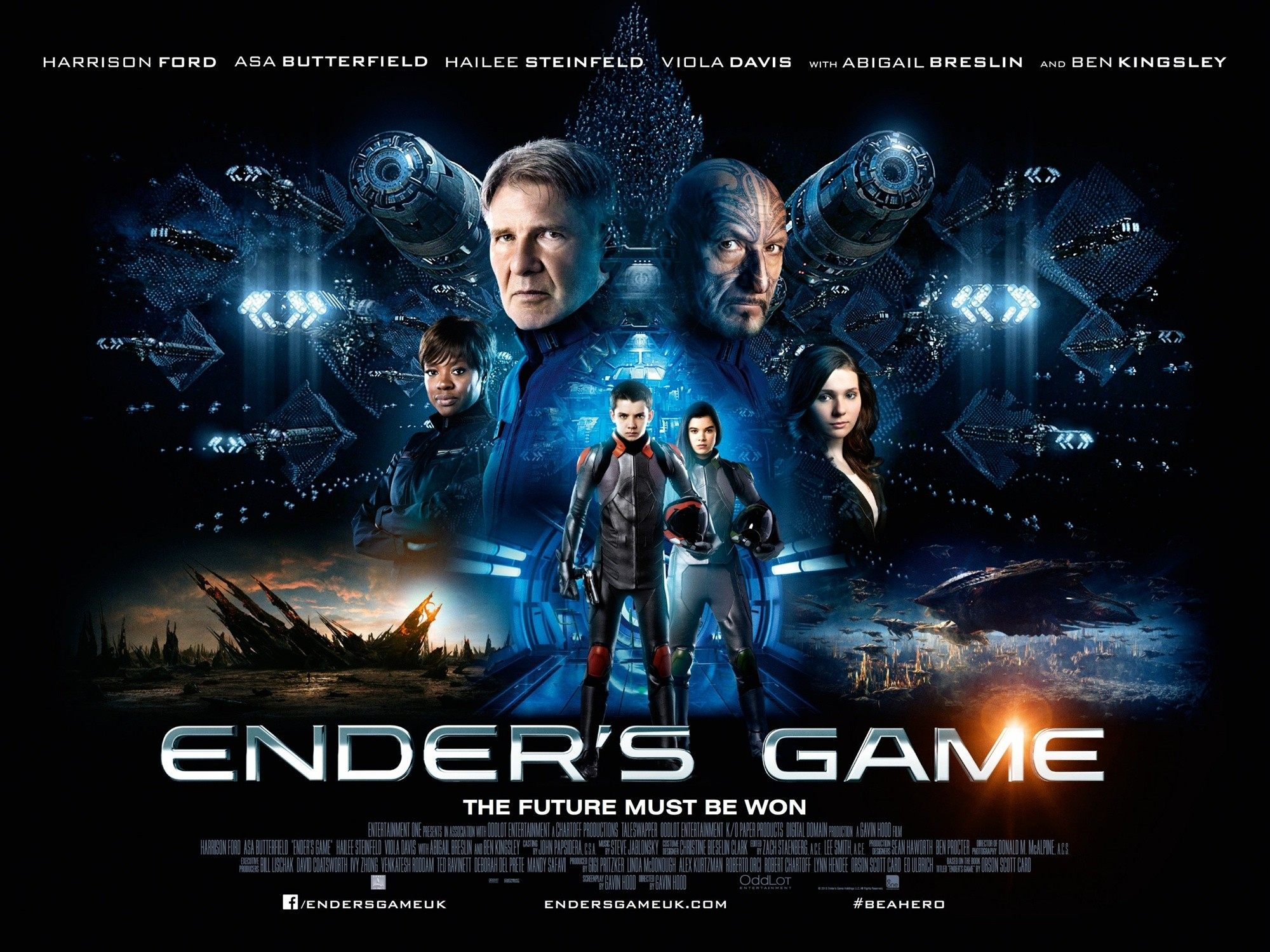 'Ender's Game' Film Got Zero Gravity Tips from Real-Life Astronaut