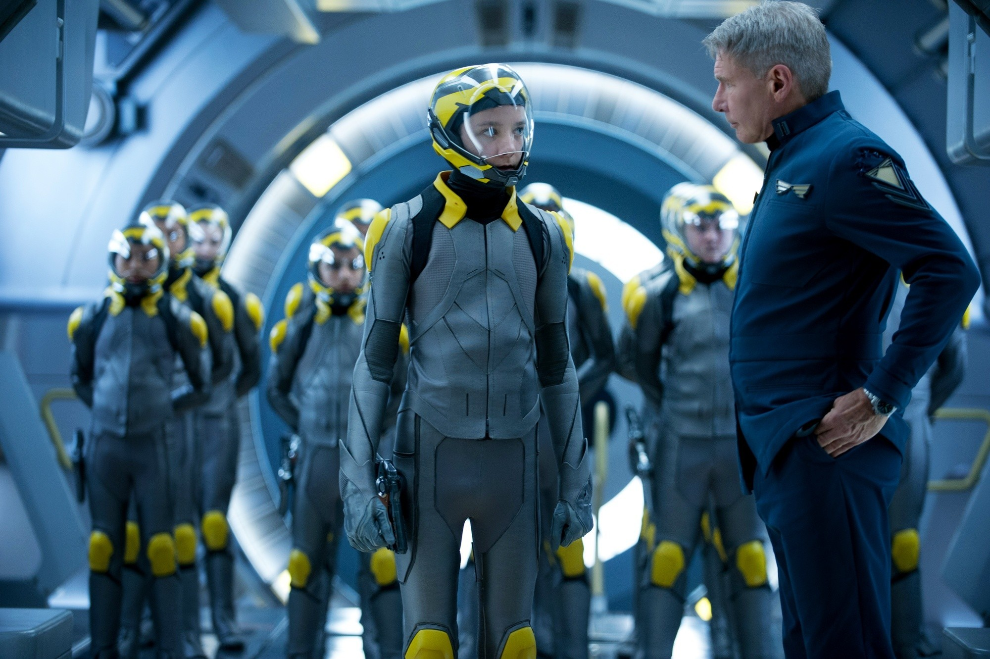 Asa Butterfield and Harrison Ford Star in 'Ender's Game'
