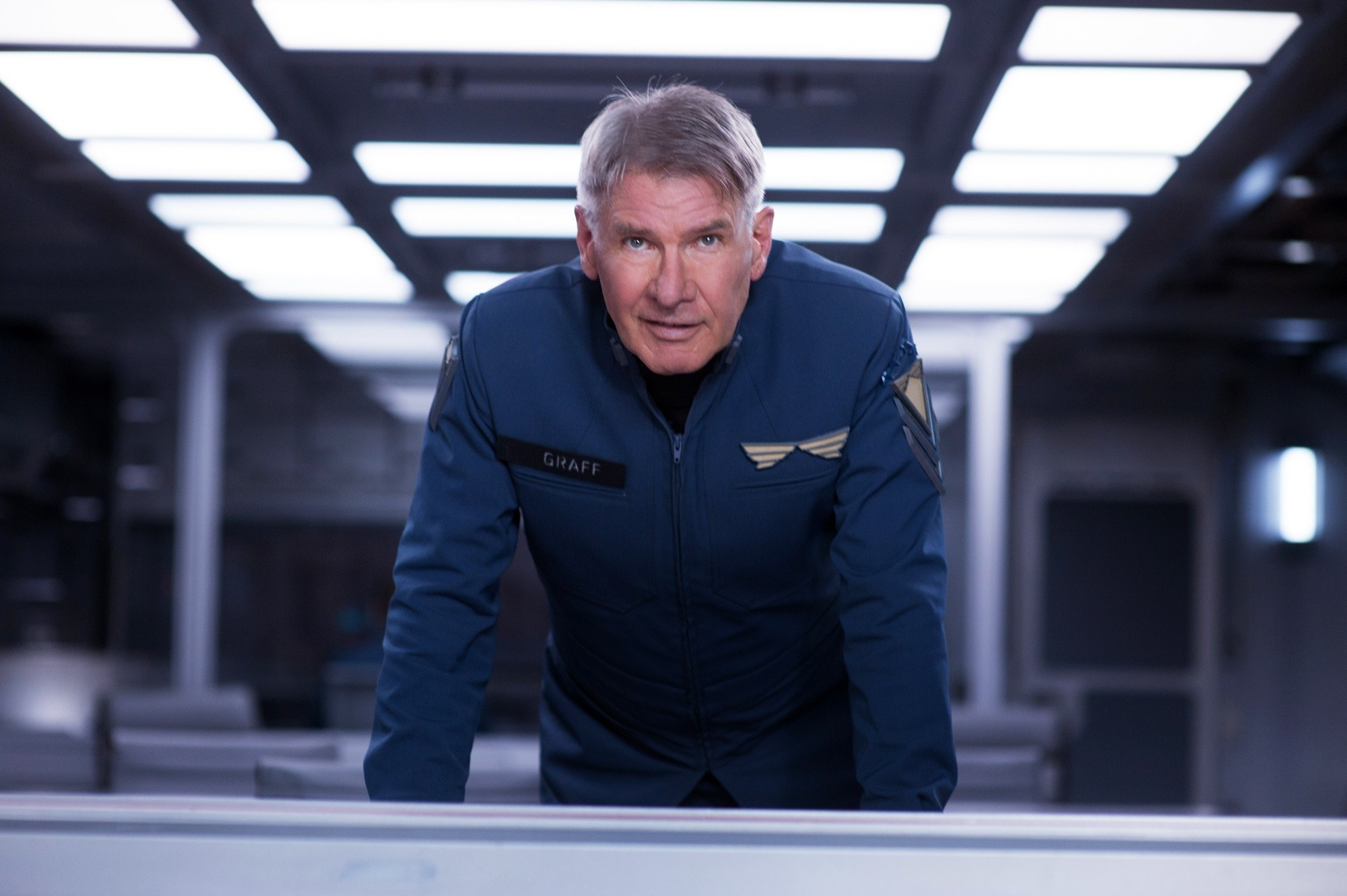 Harrison Ford in 'Ender's Game'
