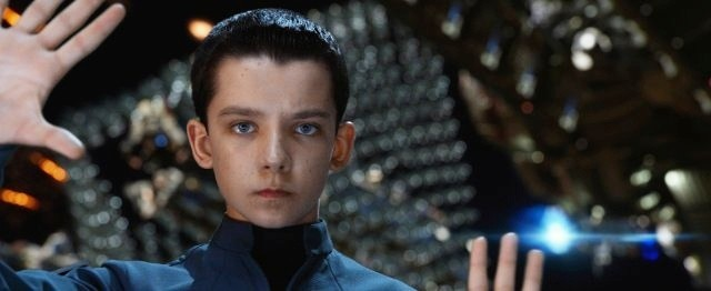 Asa Butterfield in 'Ender's Game'