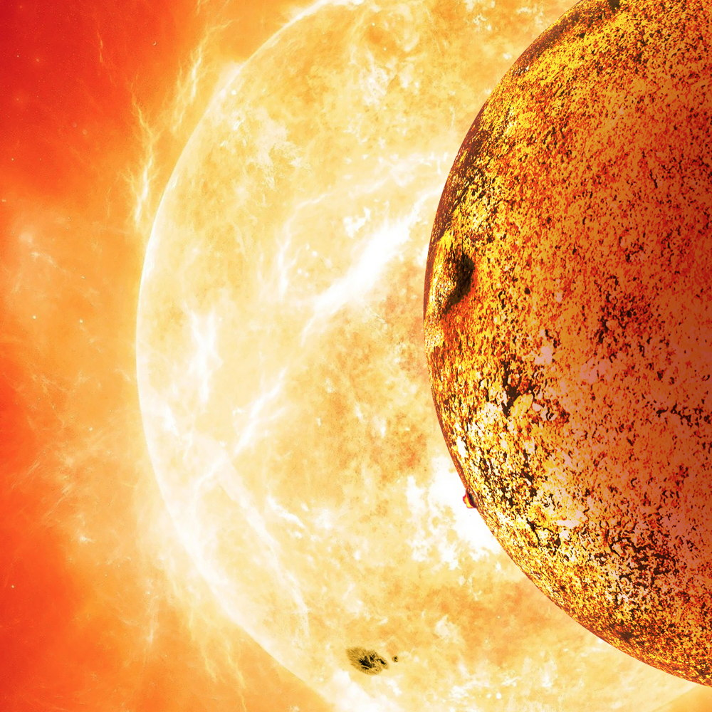 Strange 'Lava World' Is Most Earthlike Alien Planet Yet