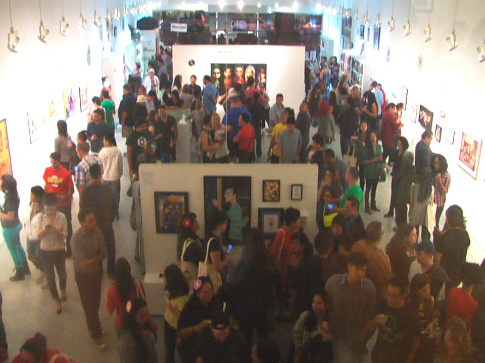 Gallery Nucleus Big Bang Theory Opening Reception