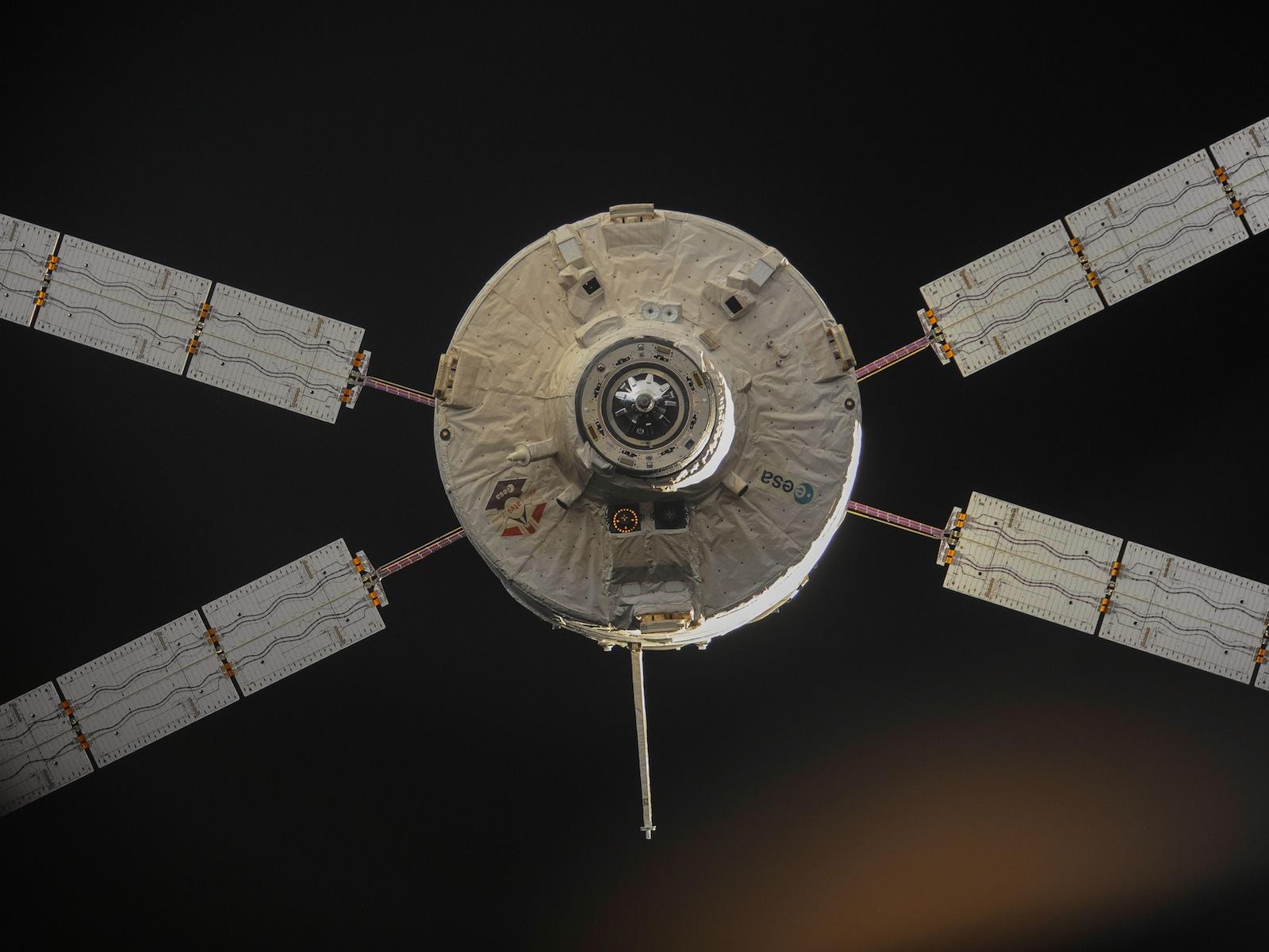 ATV-4 Undocks from ISS