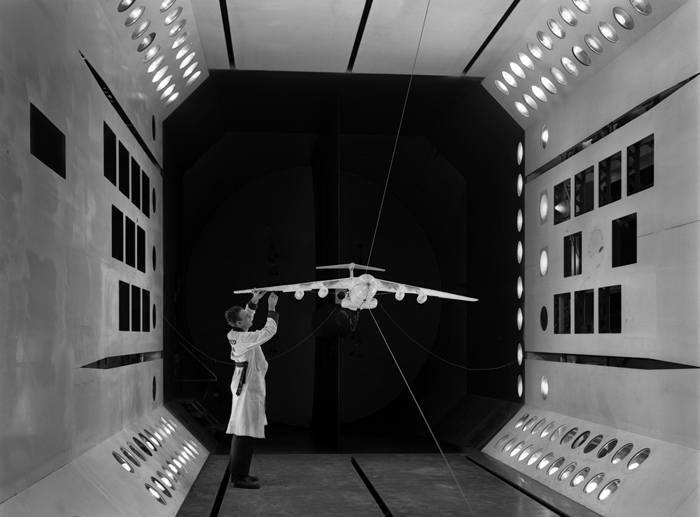 Space History Photo: Lockheed C-141 Model in TDT
