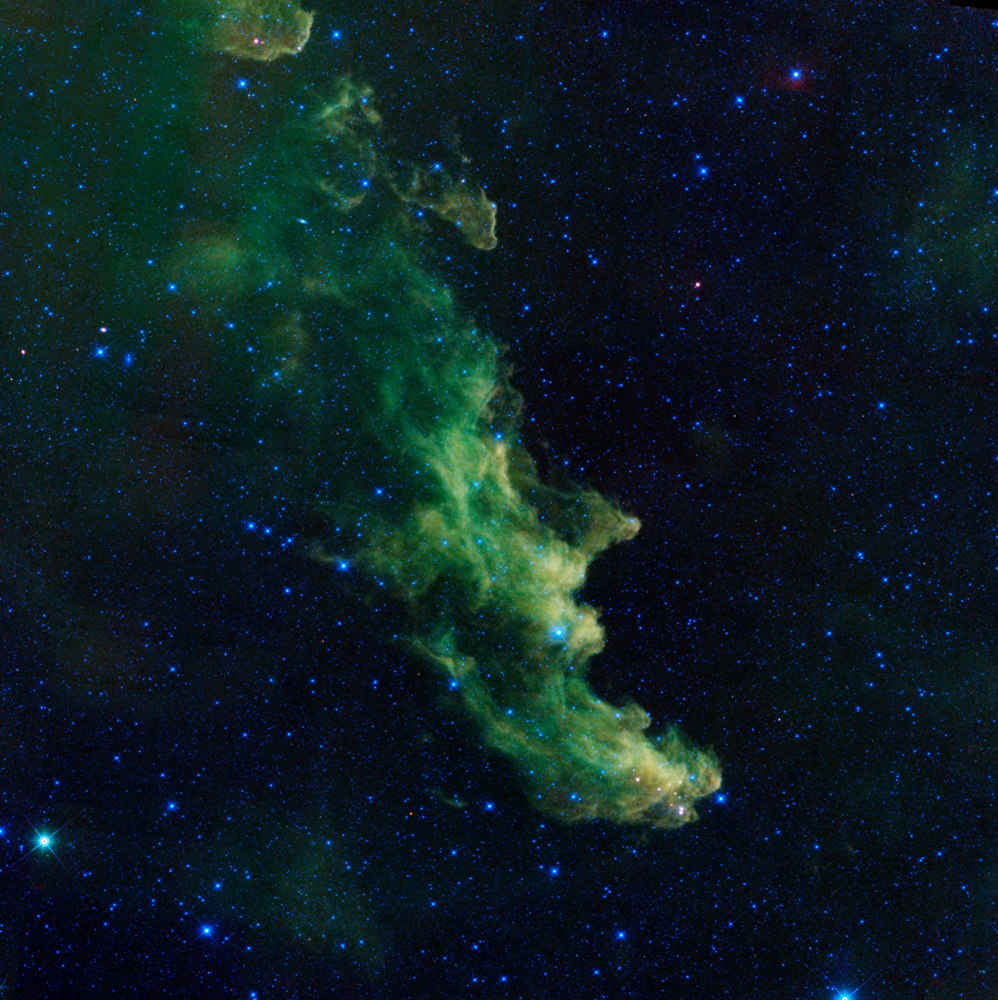 'Screaming' Witch Head Nebula Brews Up Baby Stars (Photo)