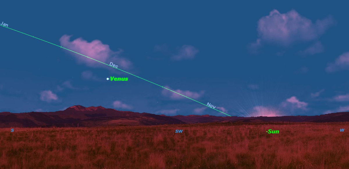 Cosmic Lights: Bright Venus, Solar Eclipse Dominate Sky This Week