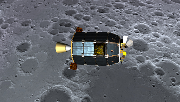 NASA's new arrival, the Lunar Atmosphere and Dust Environment Explorer (LADEE) probe — what can it sense about China's Chang'e 3 mission?