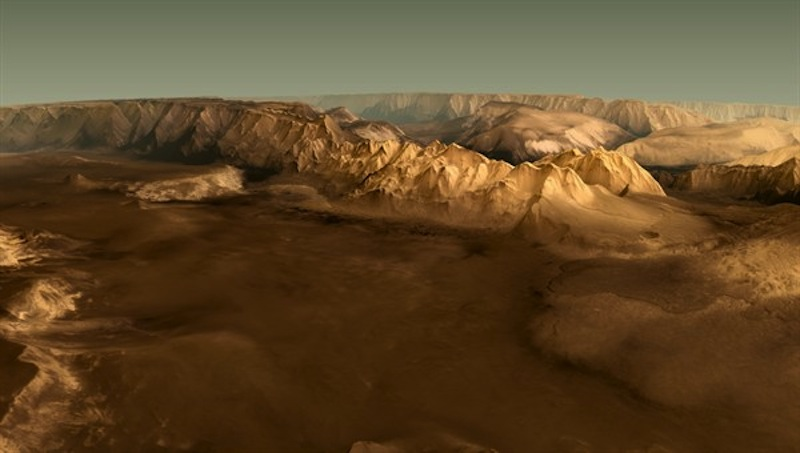 Spectacular 3D Mars Video Brings Red Planet to Life