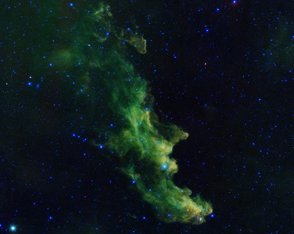 'Screaming' Witch Head Nebula Brews Up Baby Stars (Photo)