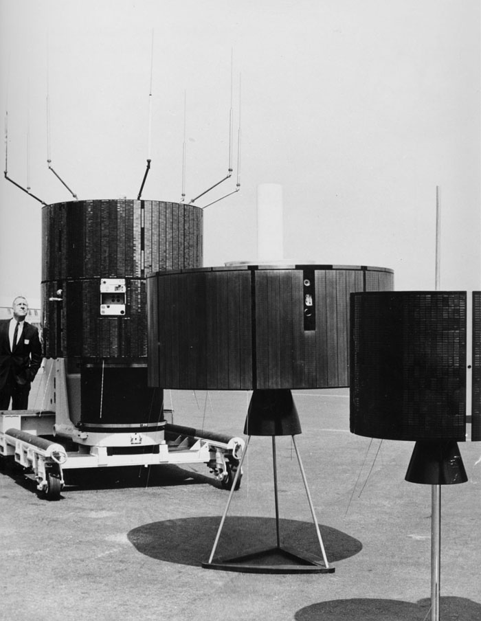 Space History Photo: Olympic Game Communication Satellite