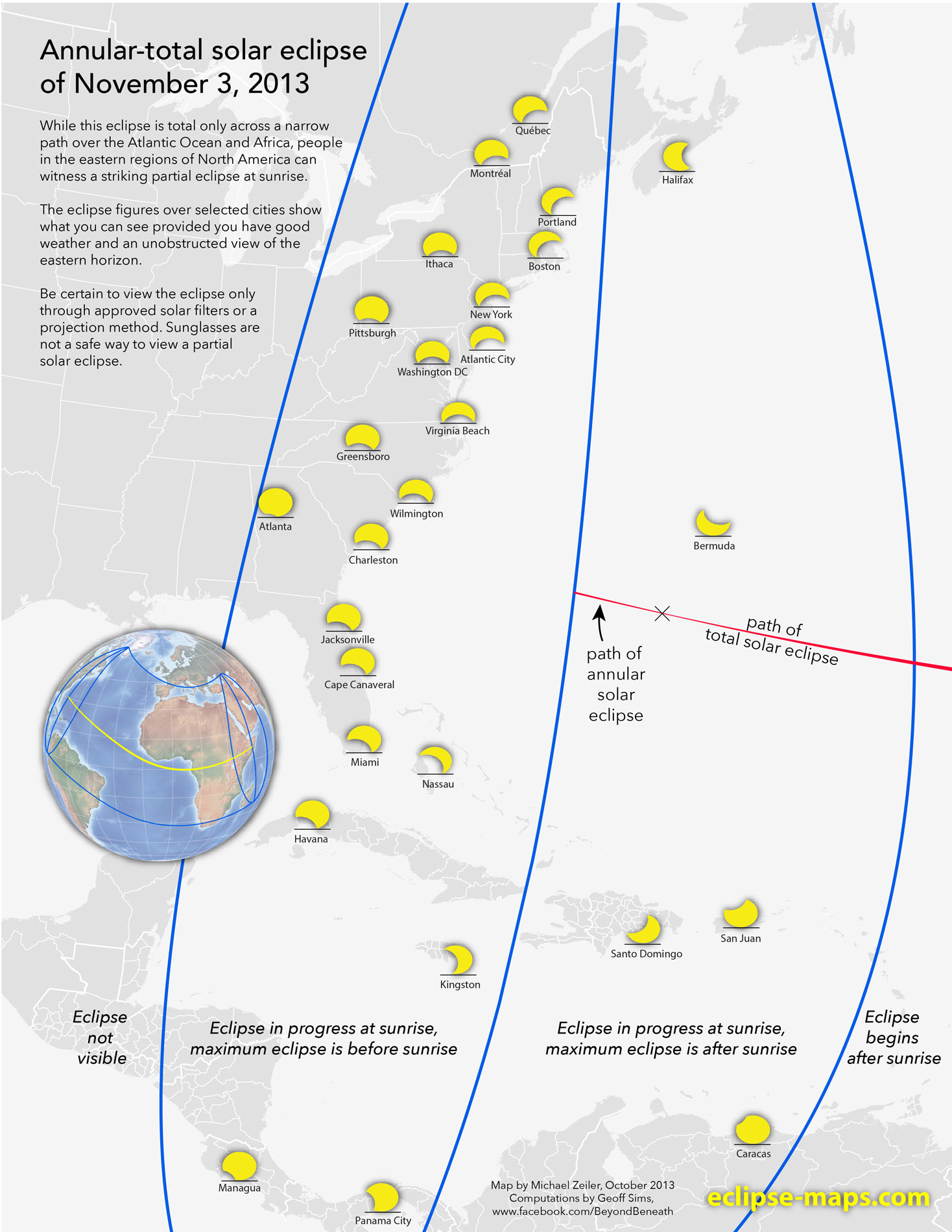 Partial Solar Eclipse Views: Nov. 3 2013