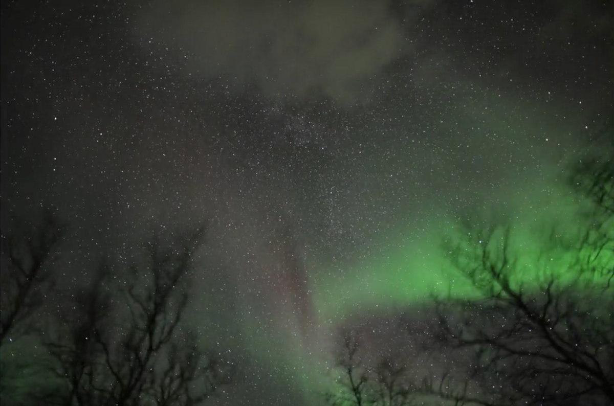 Halloween Aurora in Sweden #3