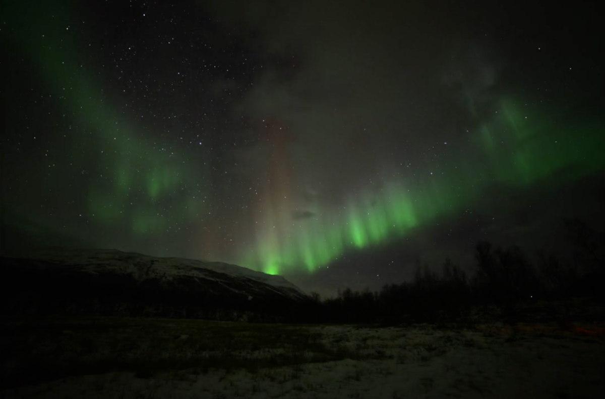 Halloween Aurora in Sweden #1