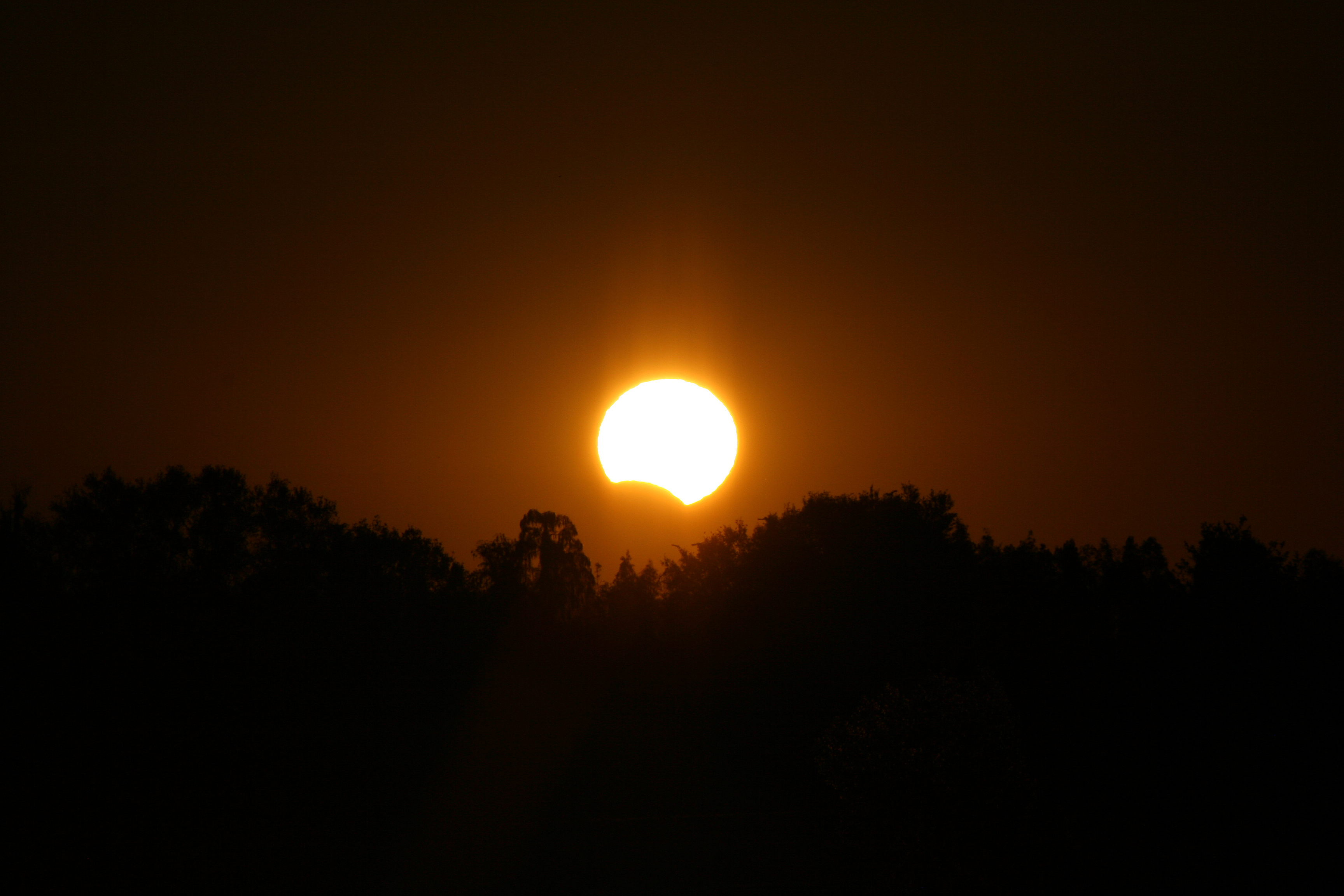 Partial Solar Eclipse from Tampa Bay, Fla.: Nov. 3, 2013