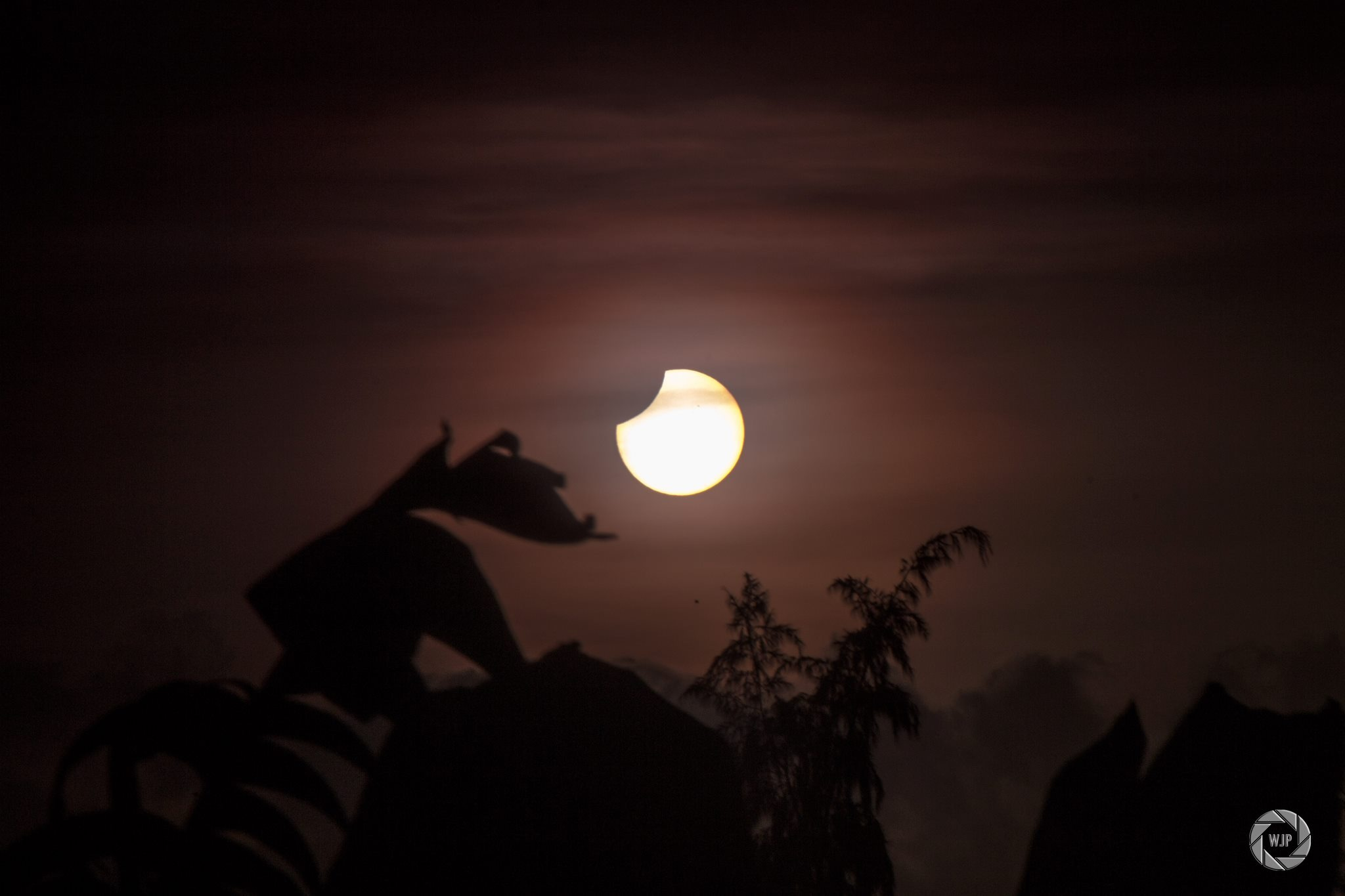 Partial Solar Eclipse from Trinidad: Nov. 3, 2013