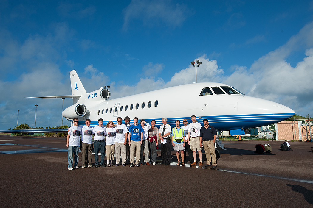 Eclipse Chasers with Chartered Jet: Nov. 3, 2013