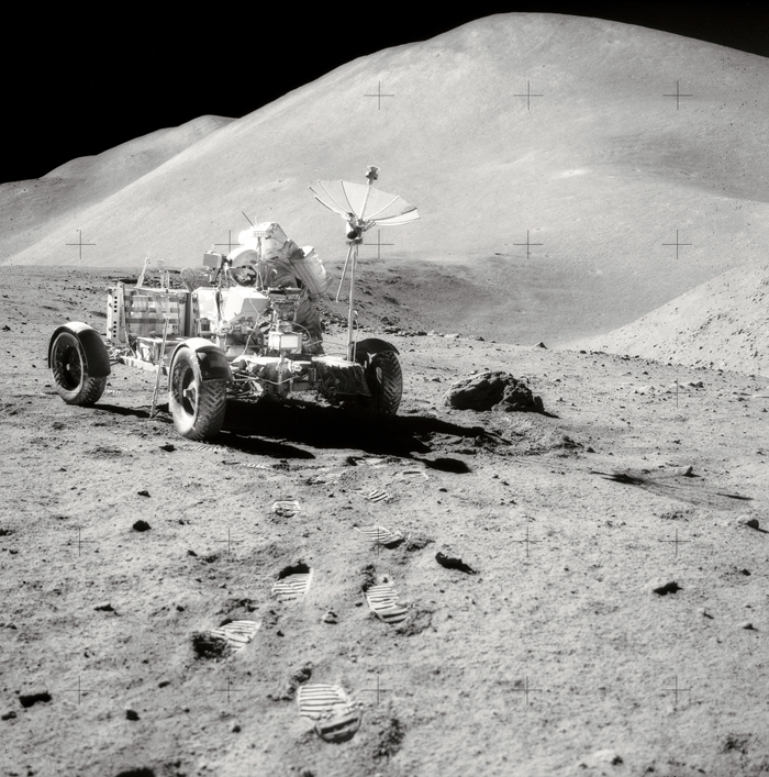 Space History Photo: Roving Hills