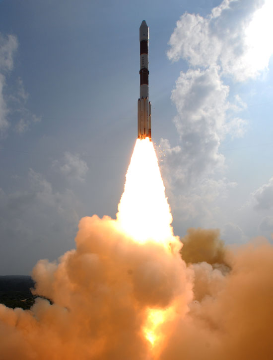 India's Mars Orbiter Mission Blasts Off