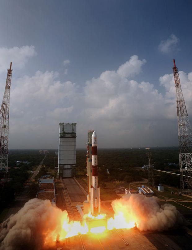India's Mars Orbiter Mission: Liftoff