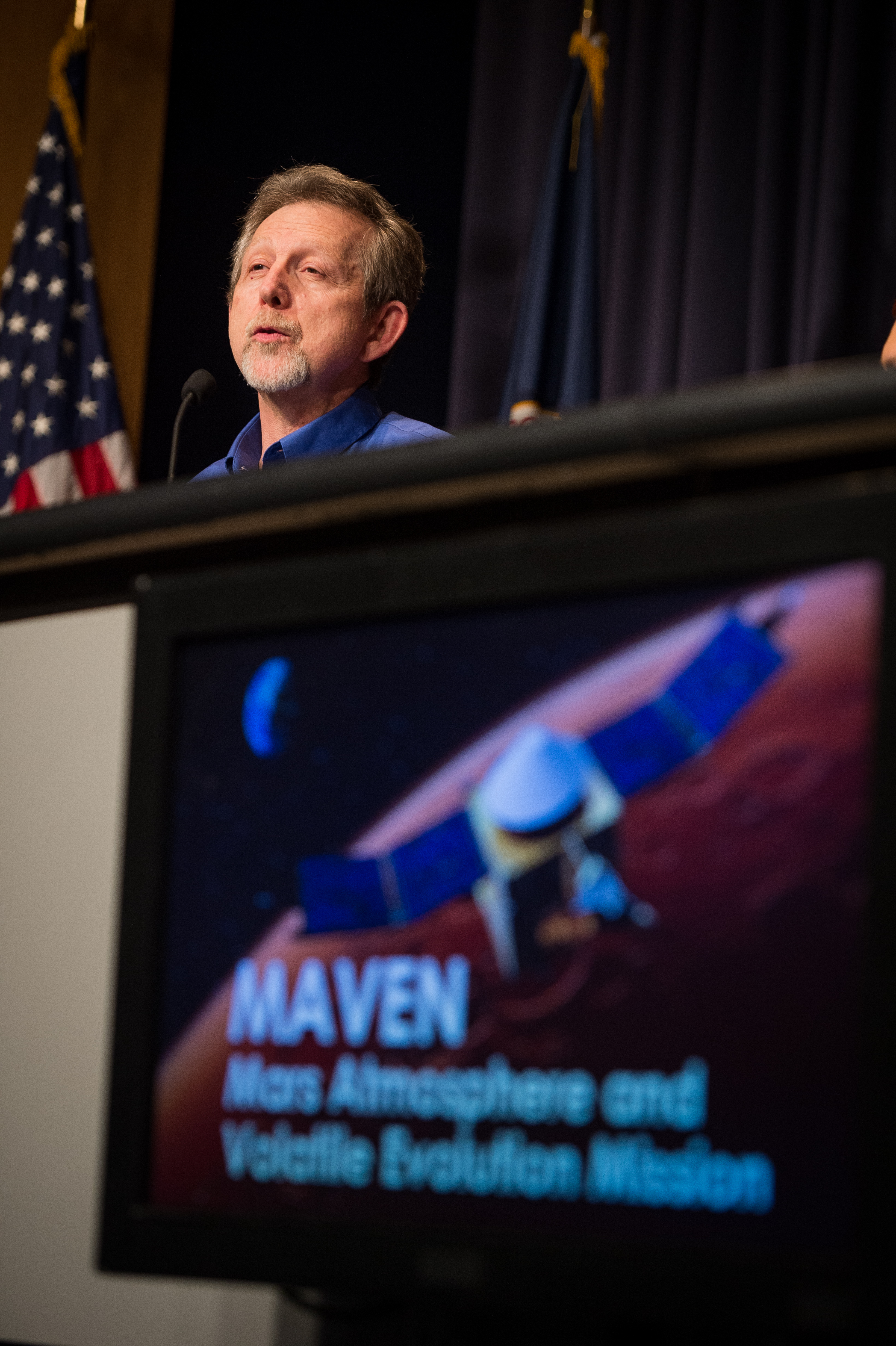 MAVEN Press Briefing: Jim Green Discusses Launch