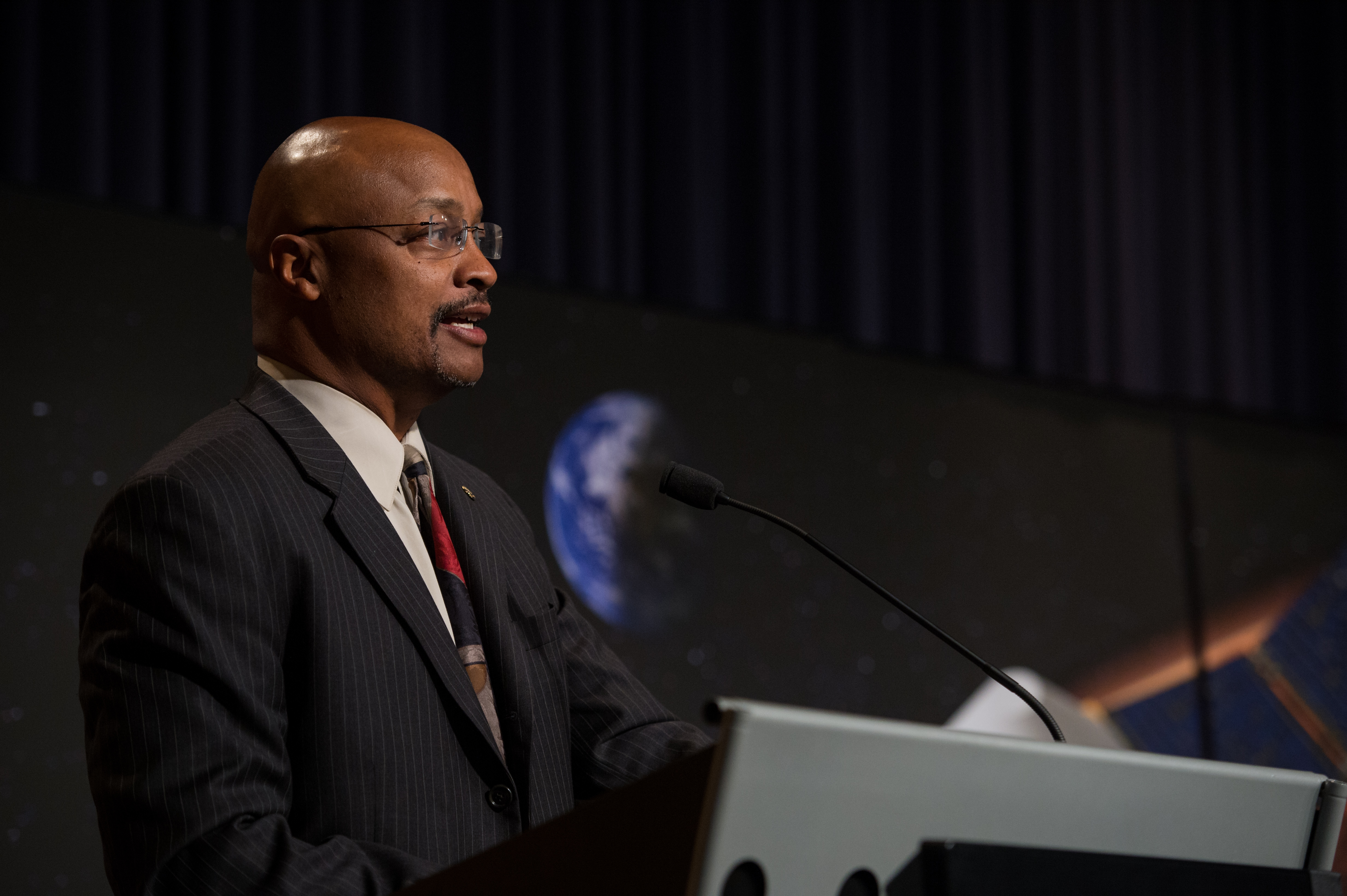 Dwayne Brown at MAVEN Press Briefing
