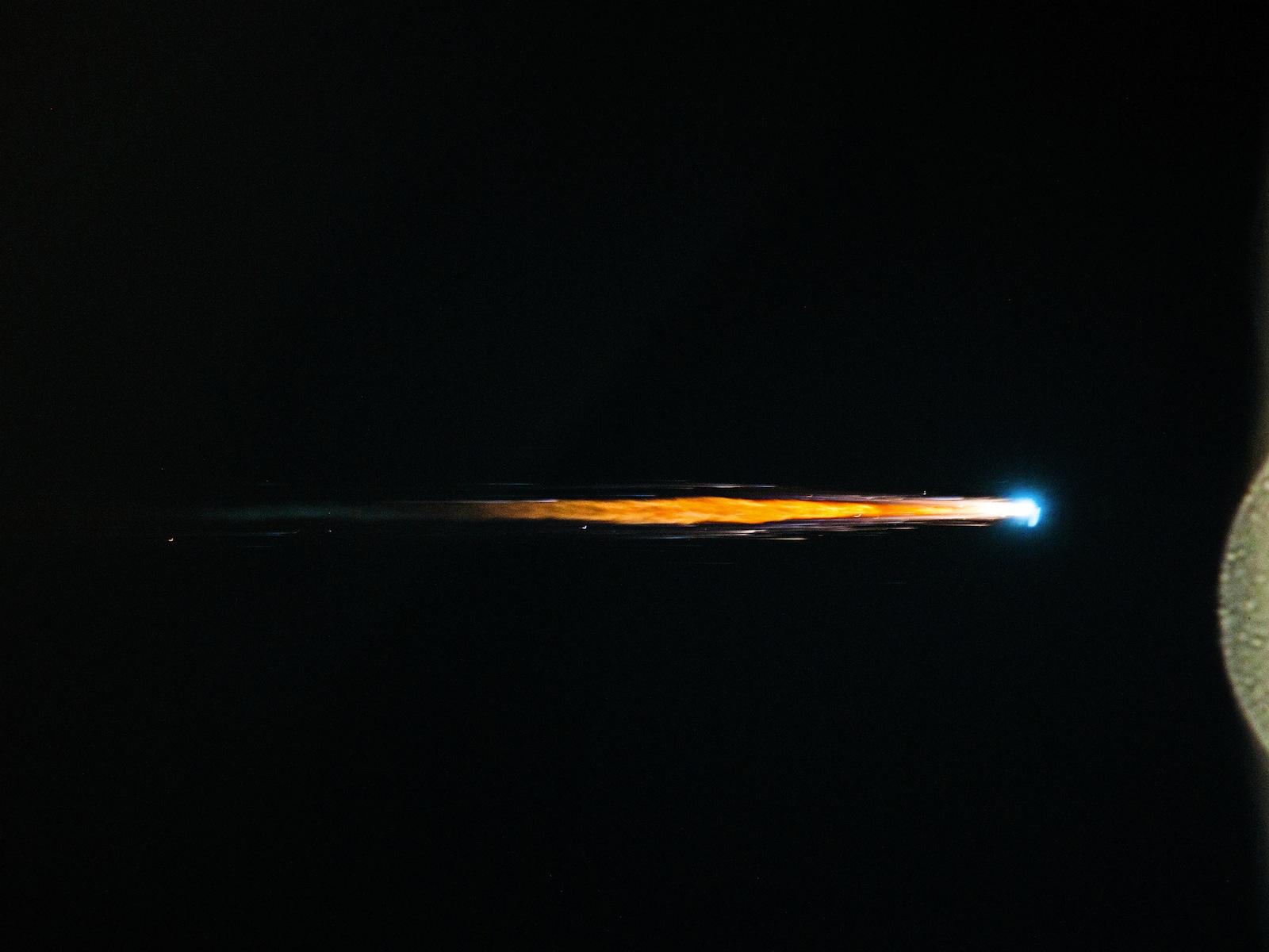 Fiery Finish   Space Wallpaper