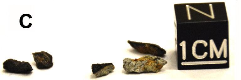 Lake Chebarkul Meteorite Fragments