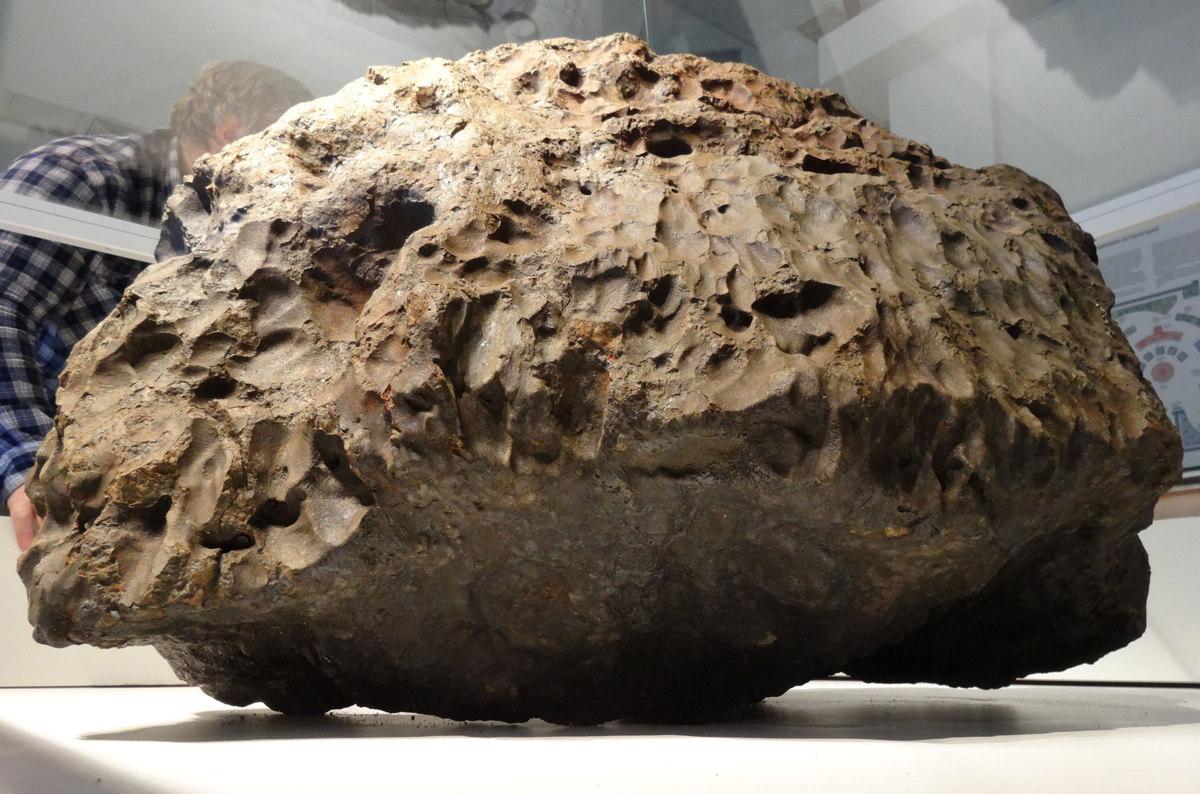 Main Mass of the Chelyabinsk Meteorite Fall