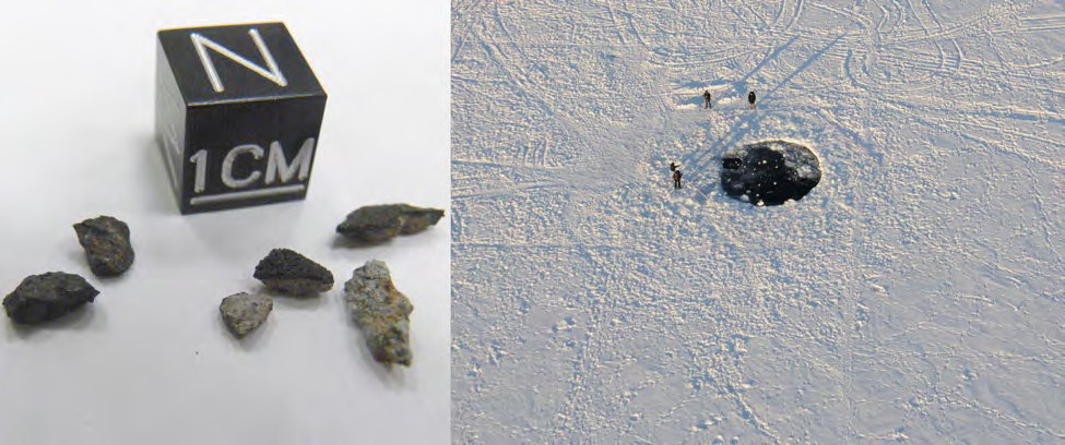 Small Meteorite Fragments from Chebarkul Lake