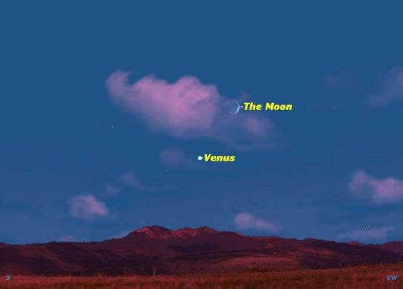 Bright Planet Venus Has Phases Like The Moon