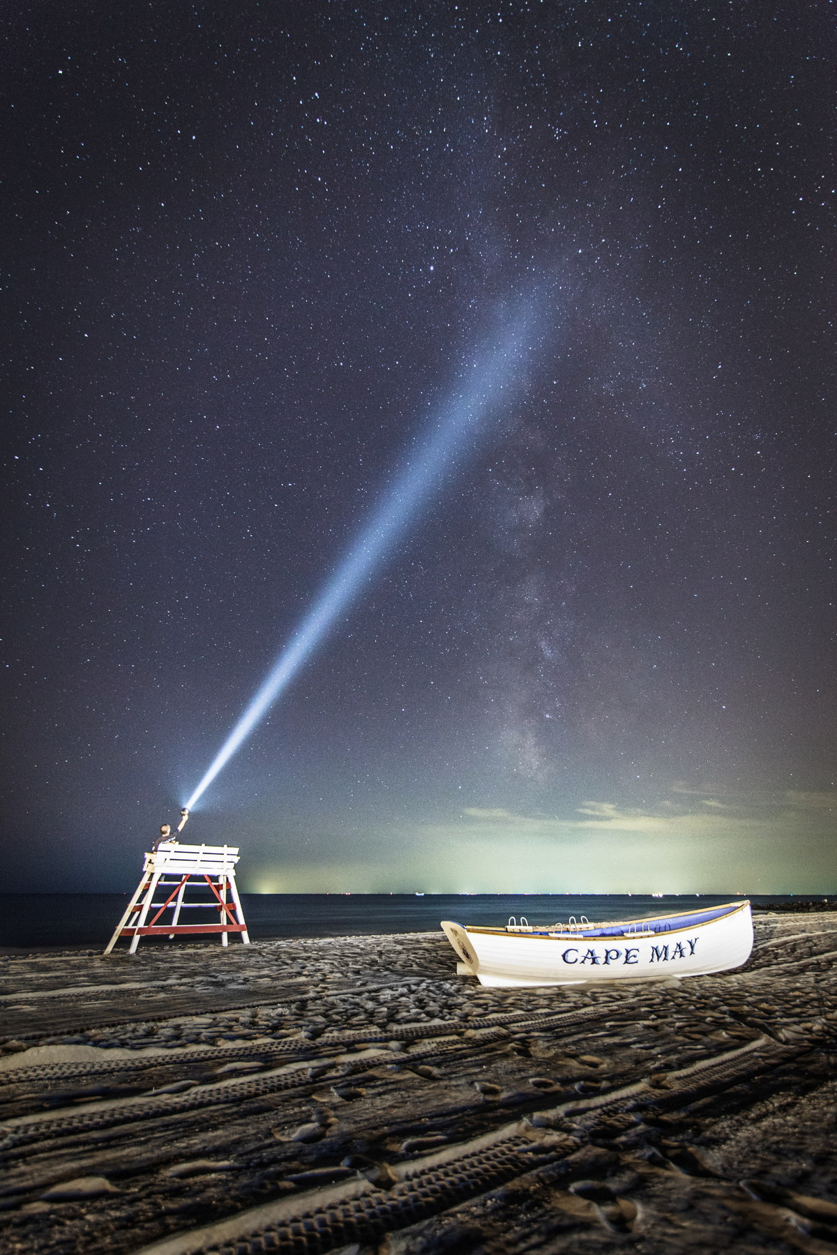 Milky Way Along the New Jersey Shore